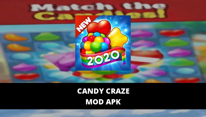 Candy Craze Featured Cover