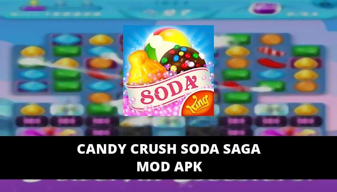 Candy Crush Soda Saga Featured Cover