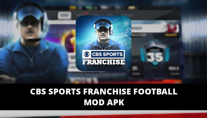 CBS Sports Franchise Football Featured Cover