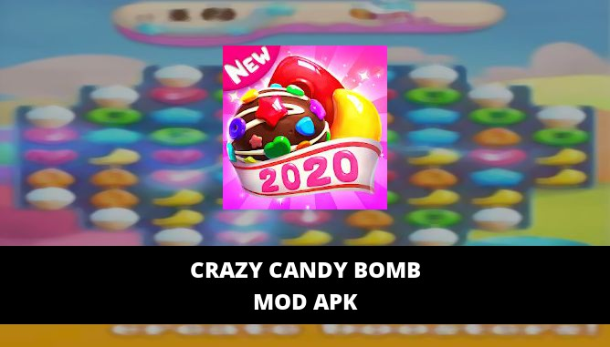 Crazy Candy Bomb Featured Cover