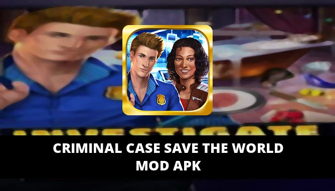 Criminal Case Save the World Featured Cover