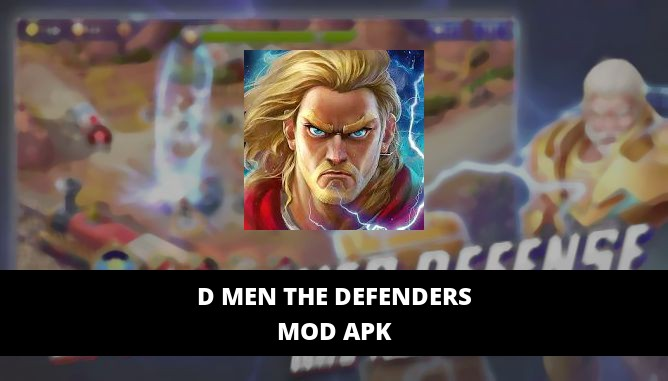 D MEN The Defenders Featured Cover