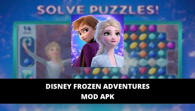 Disney Frozen Adventures Featured Cover