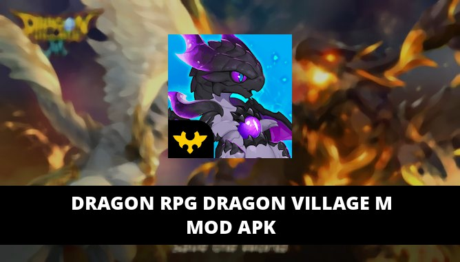 Dragon RPG Dragon Village M Featured Cover