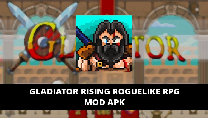 Gladiator Rising Roguelike RPG Featured Cover
