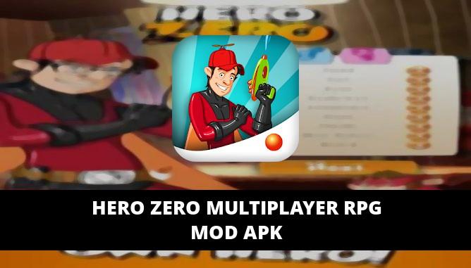 Hero Zero Multiplayer RPG Featured Cover