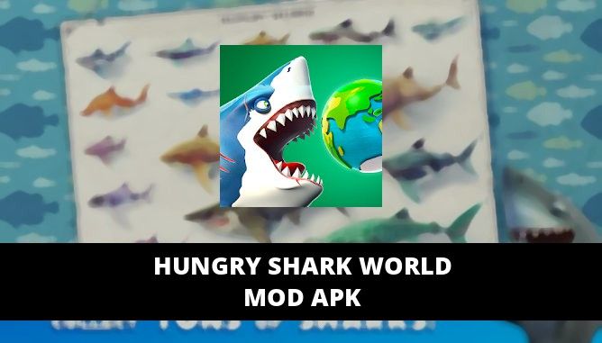 Hungry Shark World MOD APK Unlimited Gold Gems