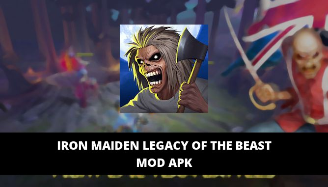 Iron Maiden Legacy of the Beast Featured Cover