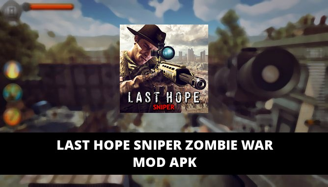 Last Hope Sniper Zombie War Featured Cover