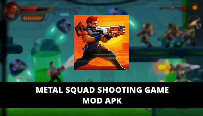 Metal Squad Shooting Game Featured Cover