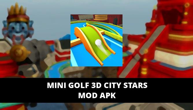 Mini Golf 3D City Stars Featured Cover