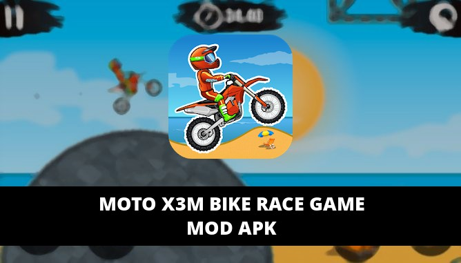 Moto X3M Bike Race Game Featured Cover