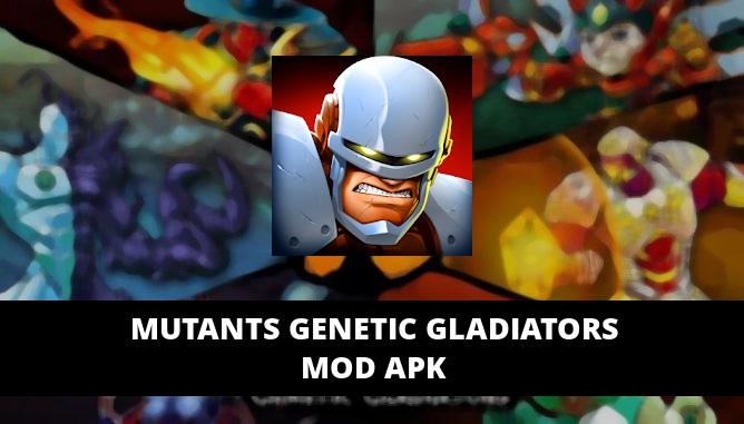 Mutants Genetic Gladiators Featured Cover