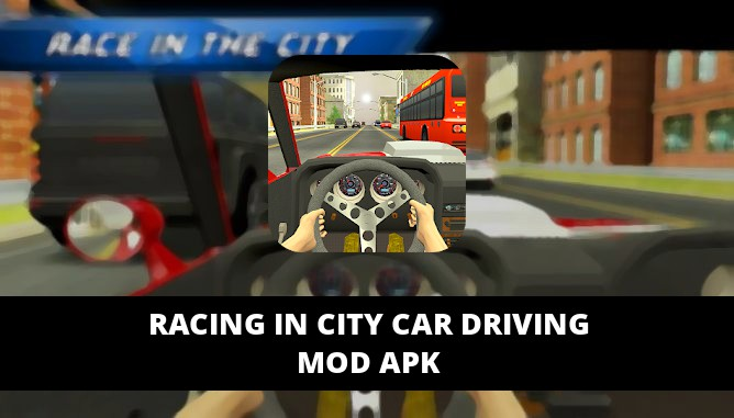 Racing in City Car Driving Featured Cover