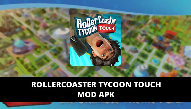 RollerCoaster Tycoon Touch Featured Cover