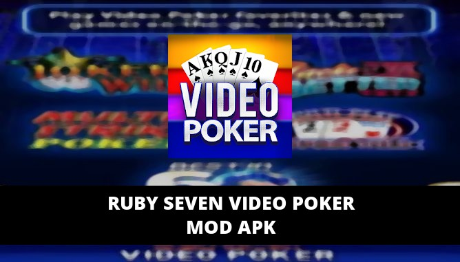 Ruby Seven Video Poker MOD APK Unlimited Credits