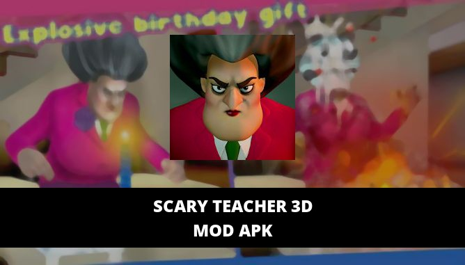Scary Teacher 3D Featured Cover