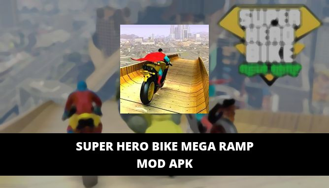 Super Hero Bike Mega Ramp Featured Cover