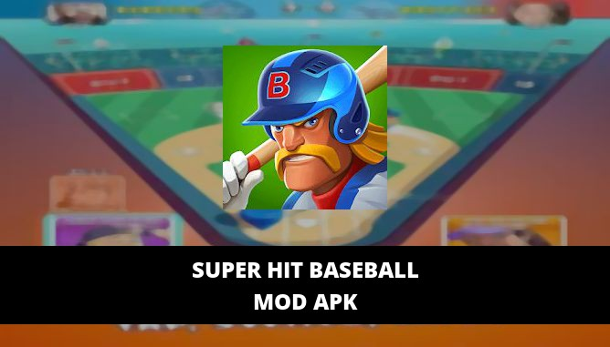 Super Hit Baseball Featured Cover