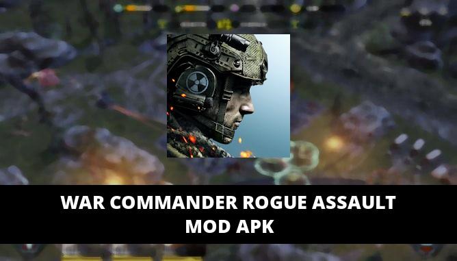 War Commander Rogue Assault Featured Cover
