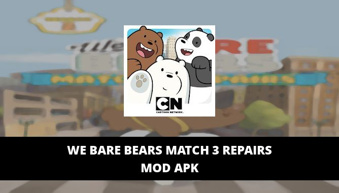 We Bare Bears Match 3 Repairs Featured Cover