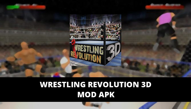 Wrestling Revolution 3D Featured Cover