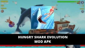 Hungry Shark Evolution MOD APK Unlimited Coins Gems