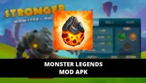 Monster Legends Mod Apk Unlimited Gems