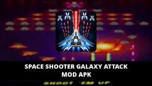 Space Shooter Galaxy Attack Featured Cover