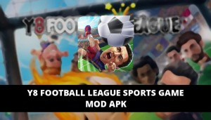 Y8 Football League Sports Game Featured Cover