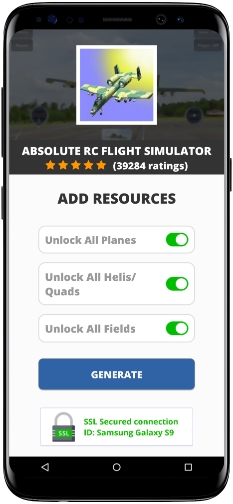 Absolute RC Flight Simulator MOD APK Screenshot