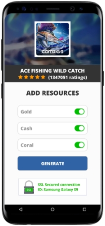 Ace Fishing Wild Catch MOD APK Screenshot