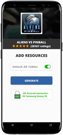Aliens vs Pinball MOD APK Screenshot