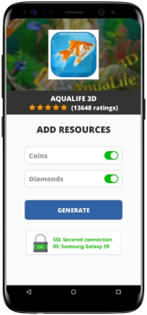 AquaLife 3D MOD APK Screenshot