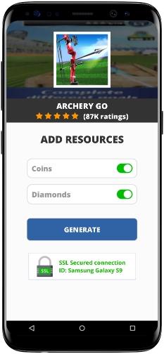Archery Go MOD APK Screenshot