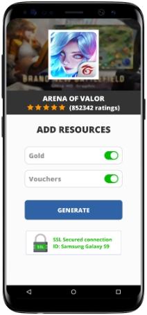 Arena of Valor MOD APK Screenshot