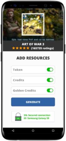 Art of War 3 MOD APK Screenshot