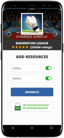 Badminton League MOD APK Screenshot