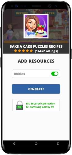 Bake a Cake Puzzles Recipes MOD APK Screenshot