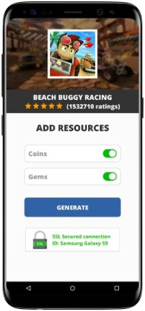 Beach Buggy Racing MOD APK Screenshot