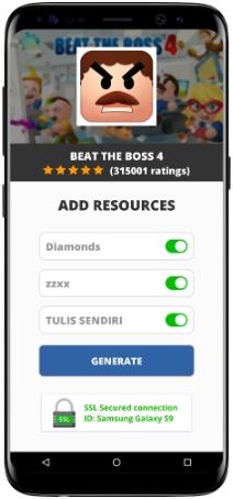Beat the Boss 4 MOD APK Screenshot