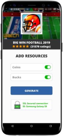 BIG WIN Football 2019 MOD APK Screenshot