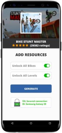 Bike Stunt Master MOD APK Screenshot