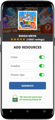 Bingo Drive MOD APK Screenshot