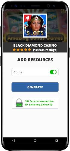 Black Diamond Casino MOD APK Screenshot