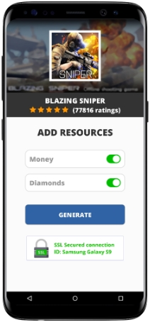 Blazing Sniper MOD APK Screenshot
