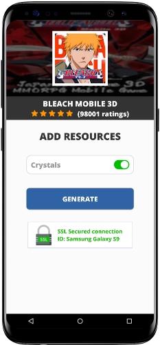 BLEACH Mobile 3D MOD APK Screenshot