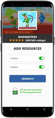 Bowmasters MOD APK Screenshot