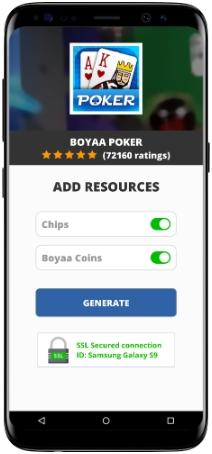 Boyaa Poker MOD APK Screenshot