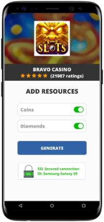 Bravo Casino MOD APK Screenshot